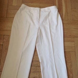 Kate Hill SIZE 18 Pure WOOL cropped pants. Lined.